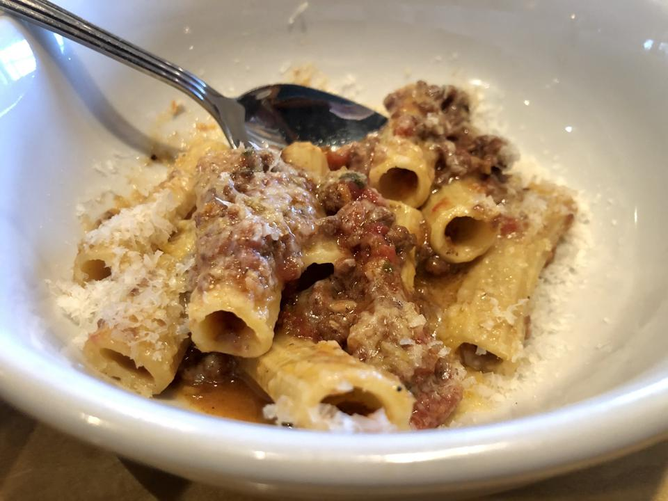 Chef Raymond Southern's pasta is made with Cairnsprings Mills flour.
