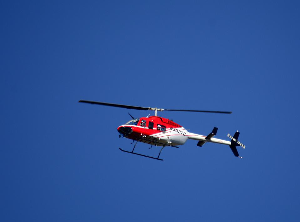 Wheels Up helicopter
