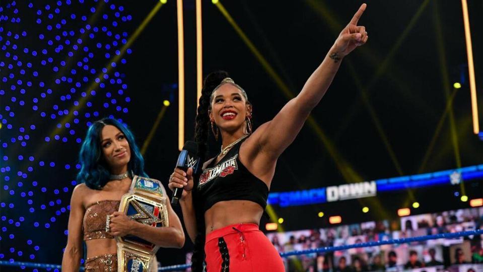 Sasha Banks vs. Bianca Belair headlined Night 1 of WrestleMania 37.
