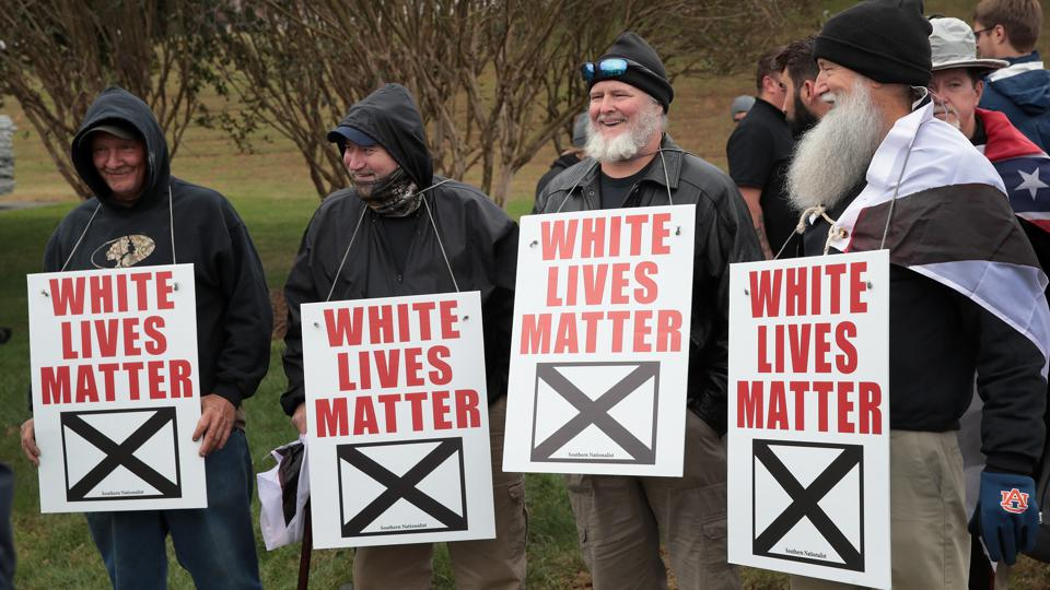 White Nationalists Hold ″White Lives Matter″ Rallies In Tennessee, Counter Protests Ensue