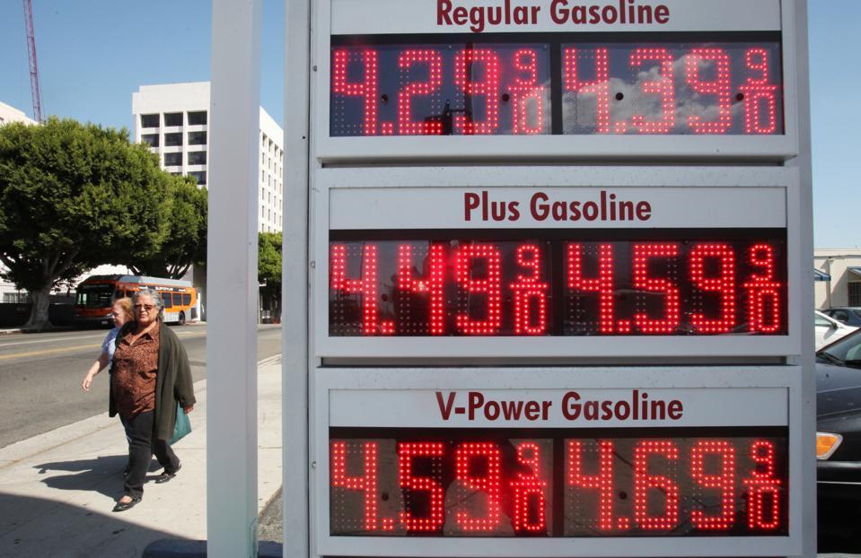 Average Price Per Gallon In California Crosses 4 Dollar Mark