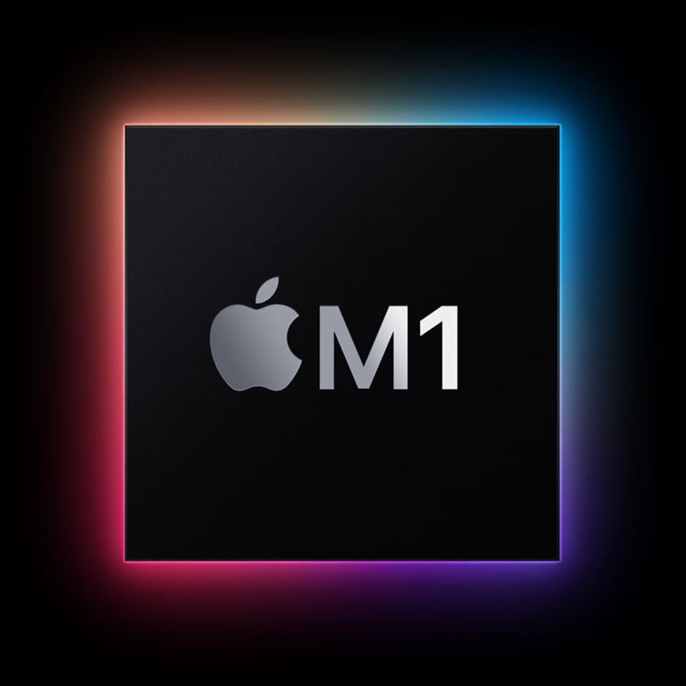 M1 processor used in the 13-inch MacBook Pro.