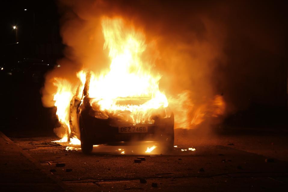 Riots in Northern Ireland continue