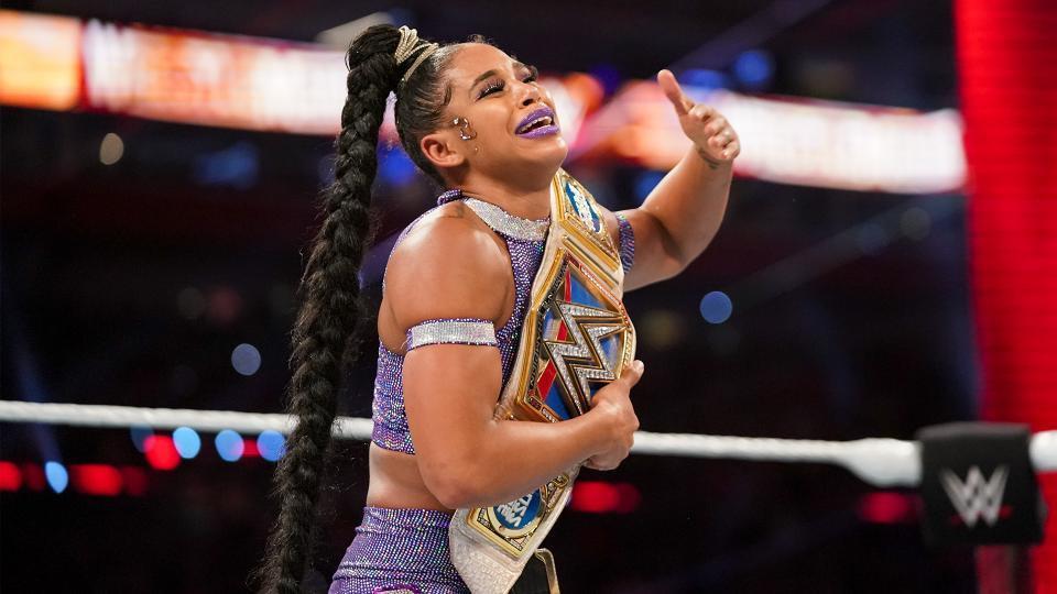 Bianca Belair won the WWE SmackDown Women's Championship.
