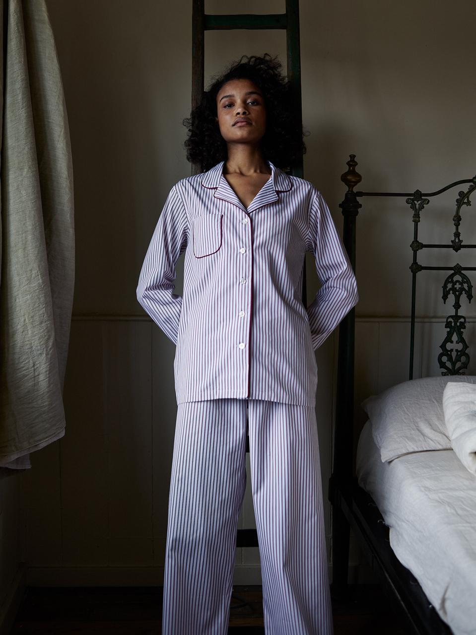 Turnbull & Asser sleepwear campaign