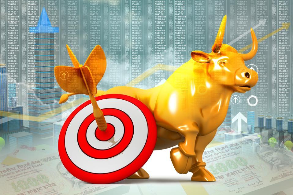 Stock market on target