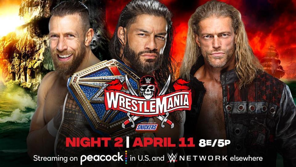 Roman Reigns, Daniel Bryan and Edge headlined WrestleMania 37