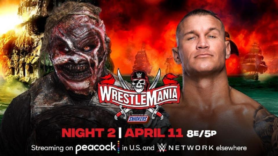 Randy Orton vs. The Fiend at WrestleMania 37