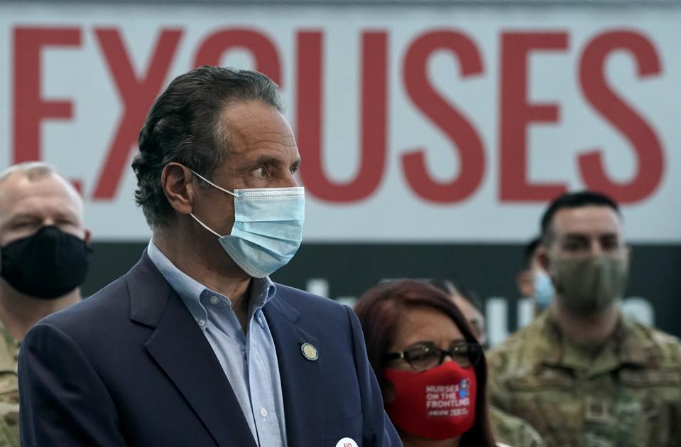 New York Governor Cuomo