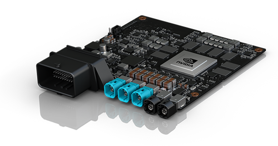 Nvidia Drive PX2 development platform which debuted in 2016