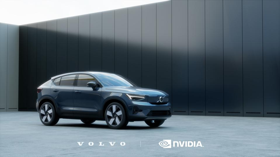 Volvo will use both the Nvidia Orin and Xavier SoCs for the automated driving capability of its next-generation XC90 that debuts in 2022 (Volvo C40 Recharge shown)