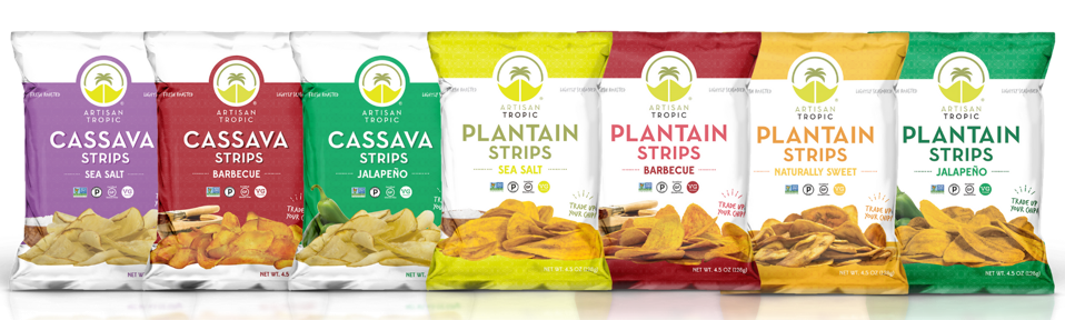 cassava strips and plantain strips bag varieties