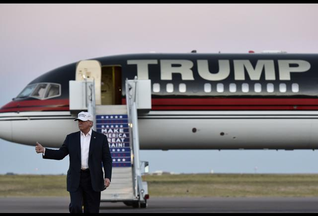 Donald Trump39s 100 Million Private Jet Features GoldPlated Nearly Eve