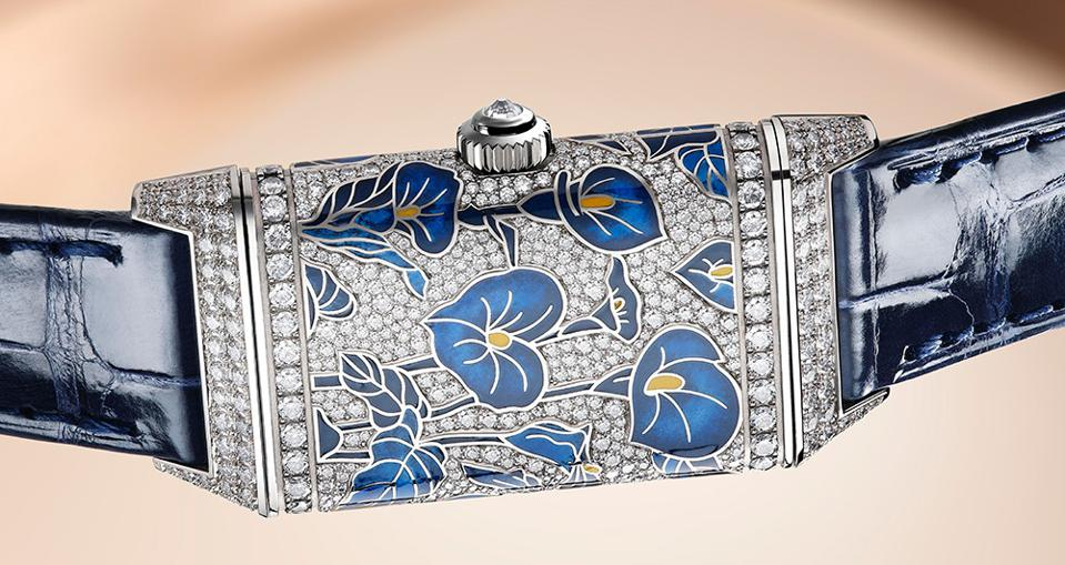 Lilly version of the Jaeger-LeCoultre Reverso One Precious Flowers