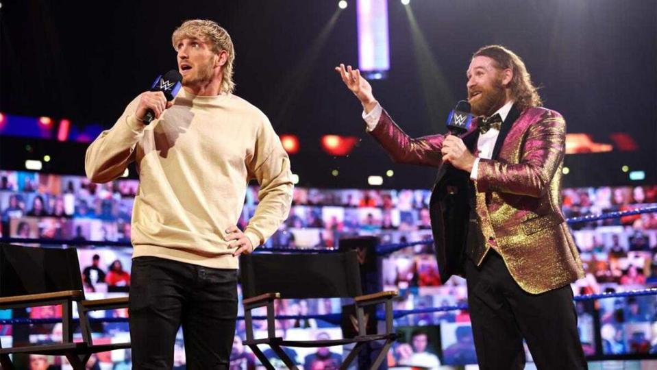 Logan Paul made his WrestleMania debut