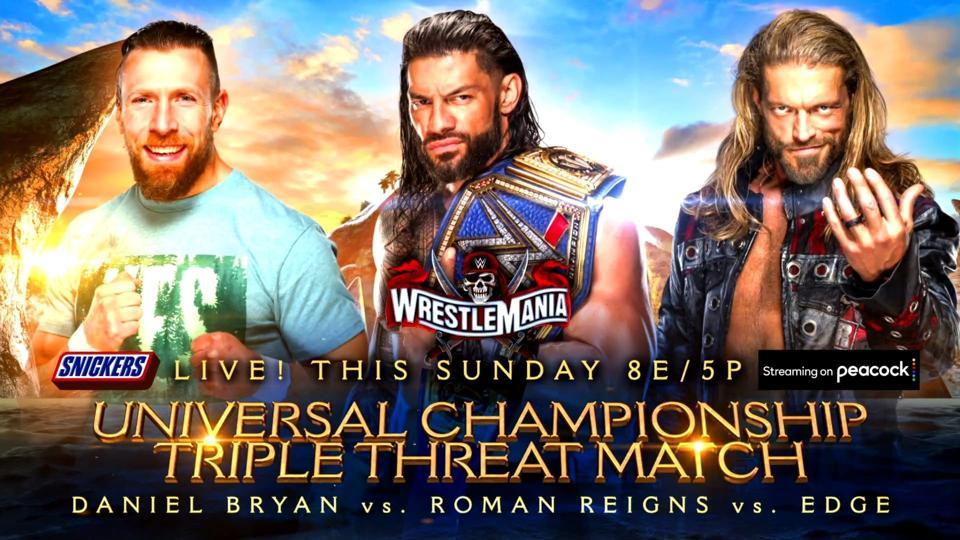 WrestleMania 37 Universal Championship