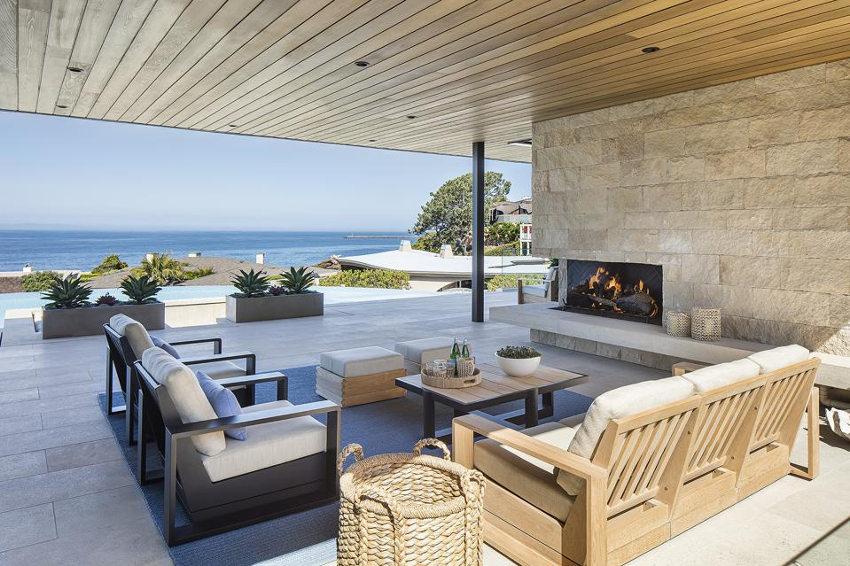 Beautifully designed outdoor living spaces are going to be hot for summer 2021.