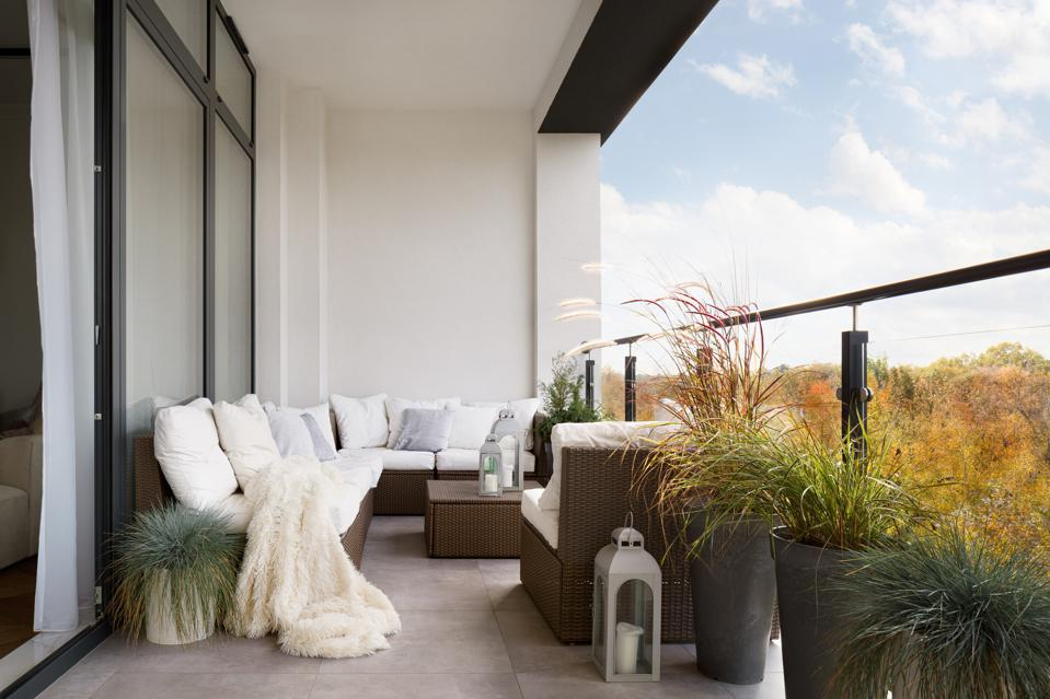 Stylish planters can easily double as major decor moments in outdoor spaces.