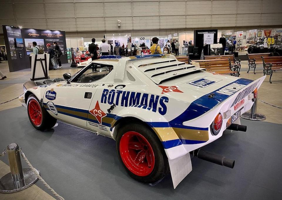 The Lancia Stratos HF Gr.4 car is arguable one of the best looking rally cars ever.
