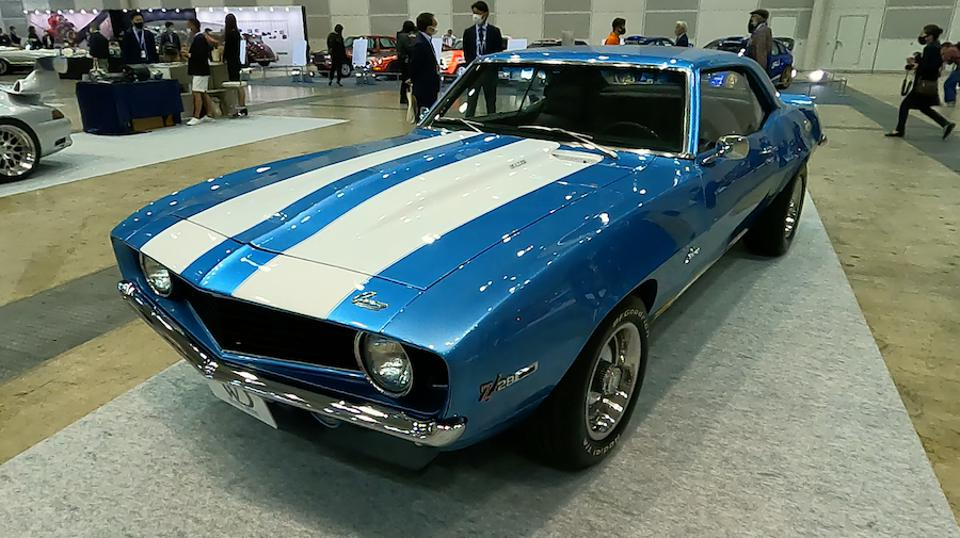 And last but not least, this gorgeous Chevy Camaro Z28 was listed at around $78,000. Any takers?