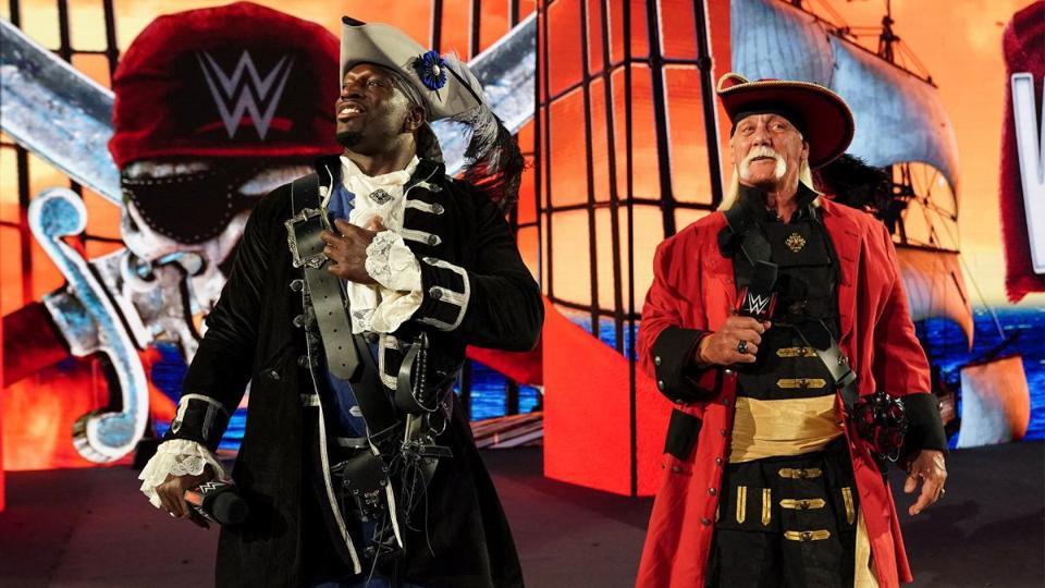 Fans booed Hulk Hogan during the opening promo of WrestleMania 37.
