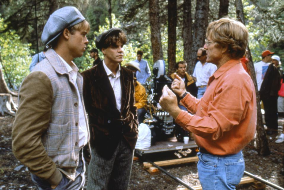 On the set of A River Runs Through It