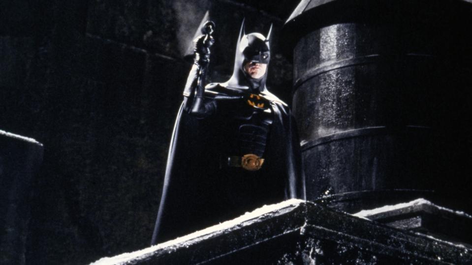 On the set of Batman Returns