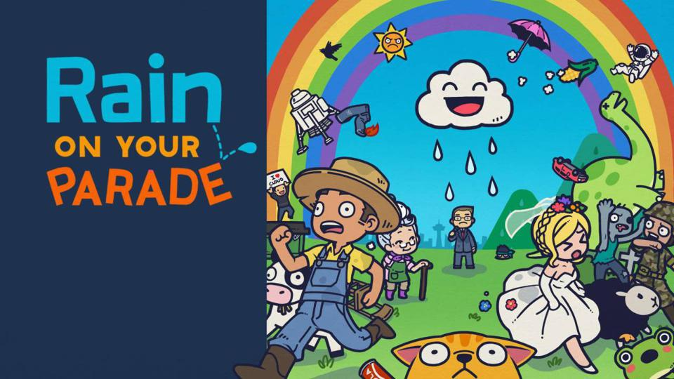 Rain on Your Parade title card