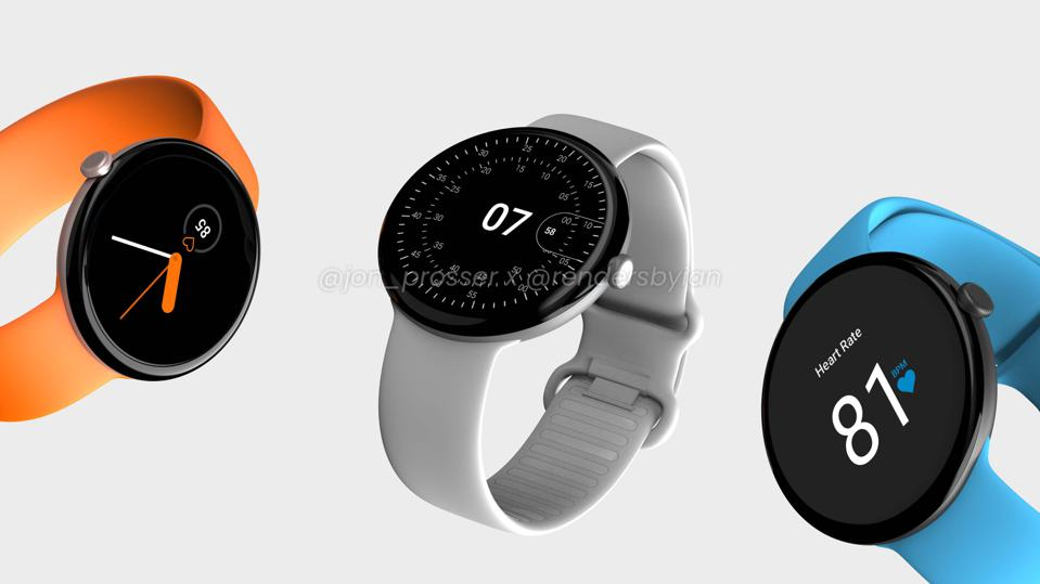 The Google Pixel Watch, if it looks like this, is pretty cool.