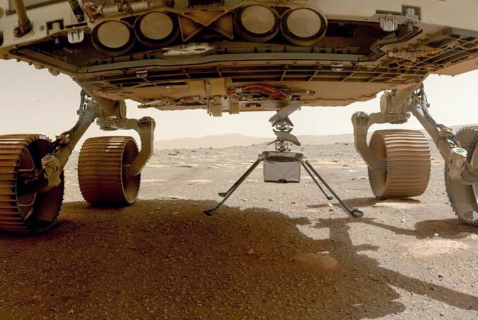 Ingenuity on Mars
