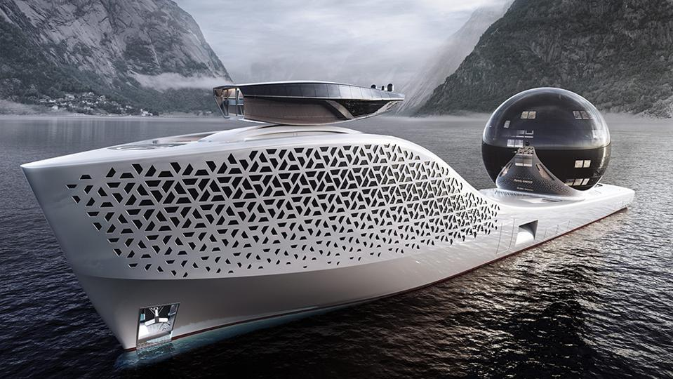 Will Scientists Save The World Aboard This Nuclear-Powered 980-Foot-Long Superyacht?