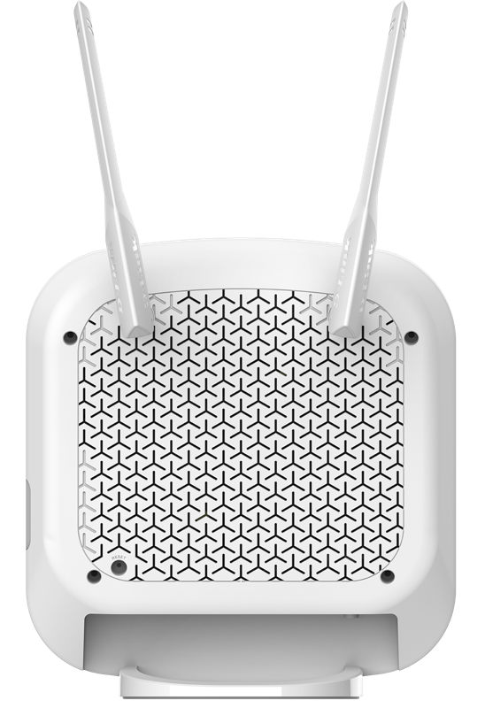 Back view of the D-Link DWR-978 5G router