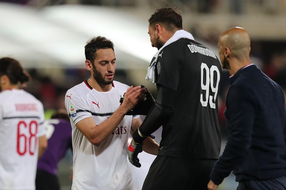 Fiorentina vs Milan - Prima Divisione