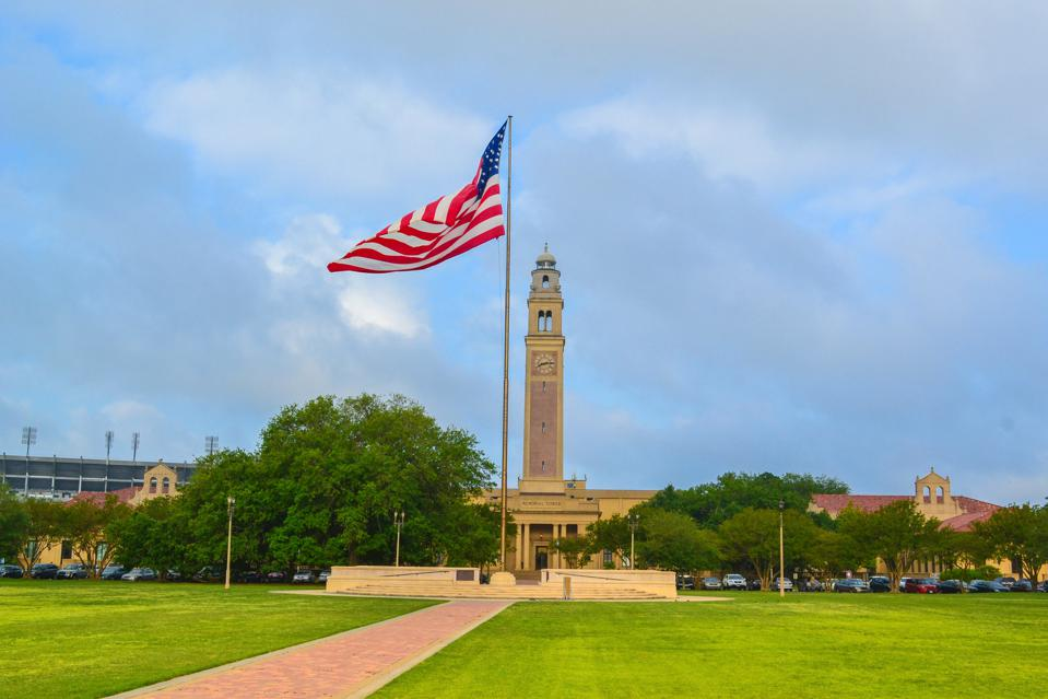Louisiana State University in Baton Rouge Louisiana LA
