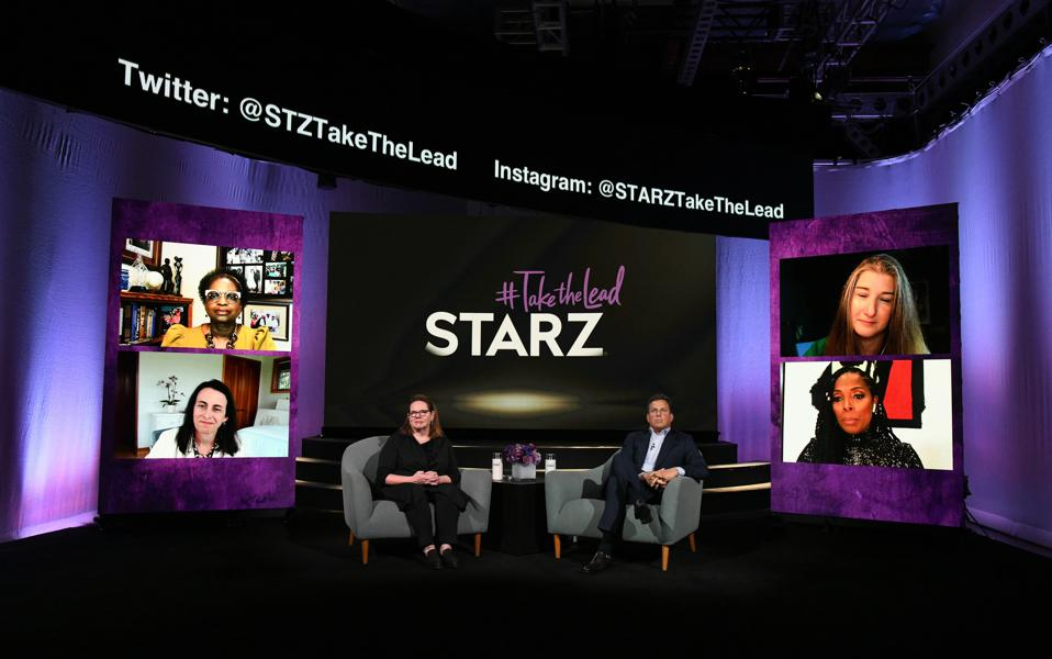 STARZ ″TakeTheLead″ event, held Friday, April 5th, 2021.
