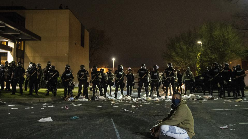 Protestors Clash With Police After Death of Daunte Wright