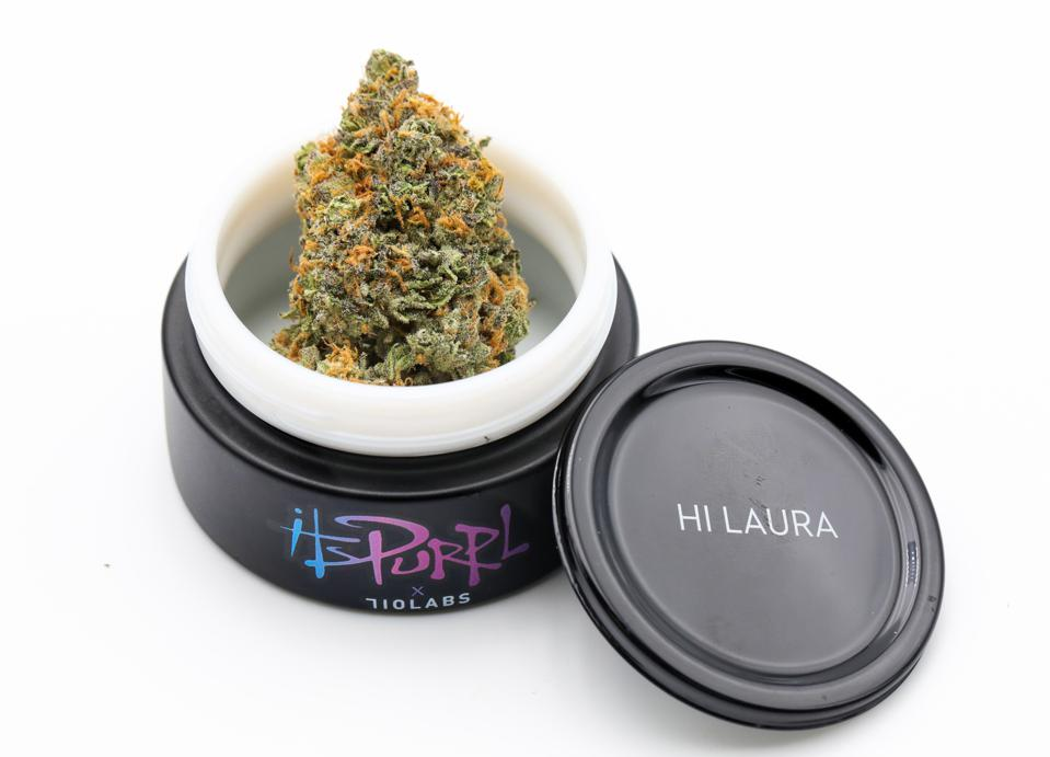 An eighth of ItsPurpl cannabis, from actor Jaleel White as an homage to his Family Matters character strain with a cult following.