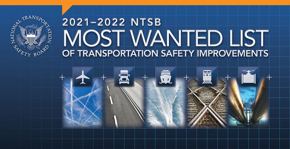 A graphic that details transportation safety improvements.