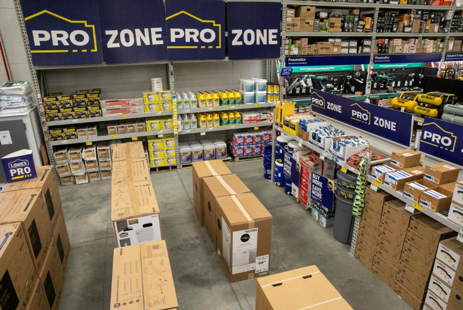 The retailer is introducing larger parking spaces, phone charging stations and grab-and-go items in an effort to cater to professional customers.