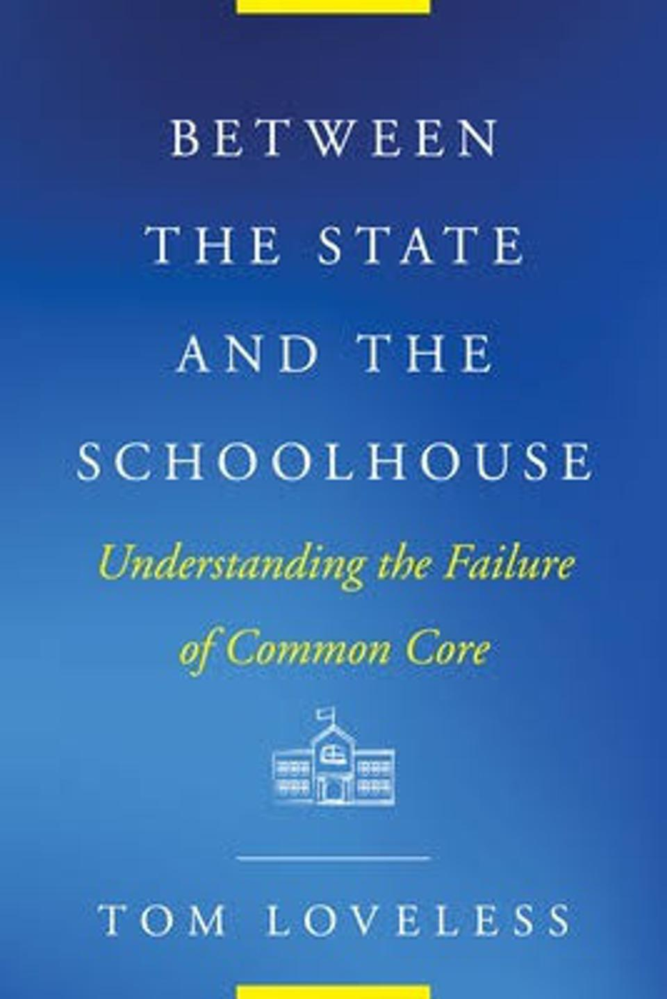 Cover of the book Between the state and the schoolhouse