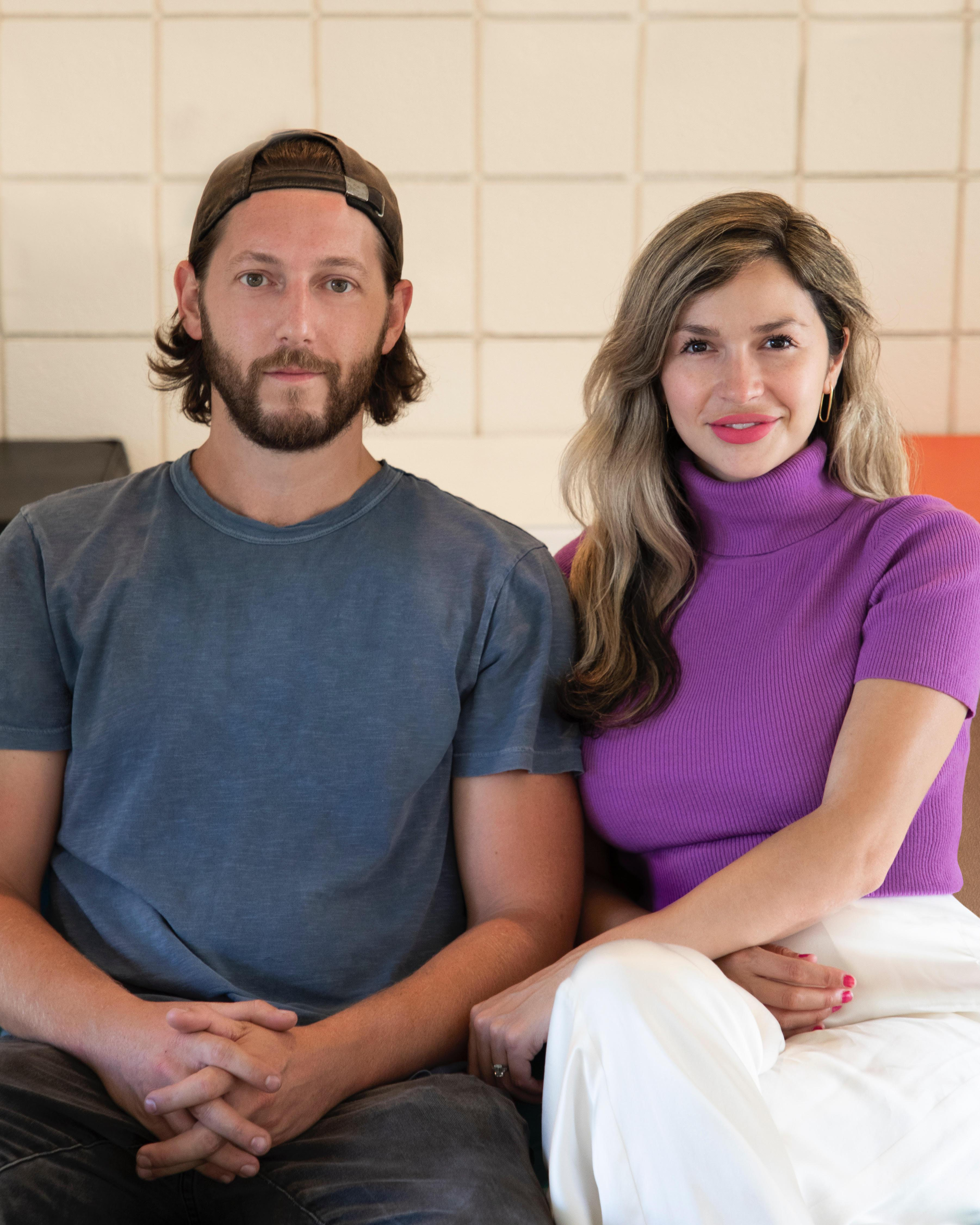 Cofounders and husband & wife team: Max Kislevitz and Natalie Holloway (CEO).