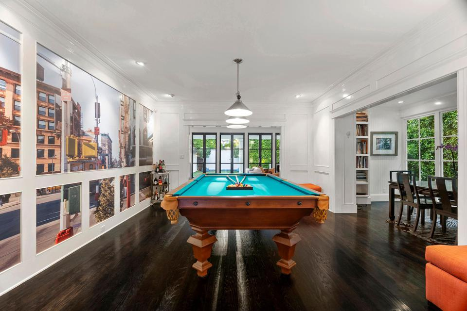 game and billiard's room inside 1357 genesee avenue foursquare house spaulding square la