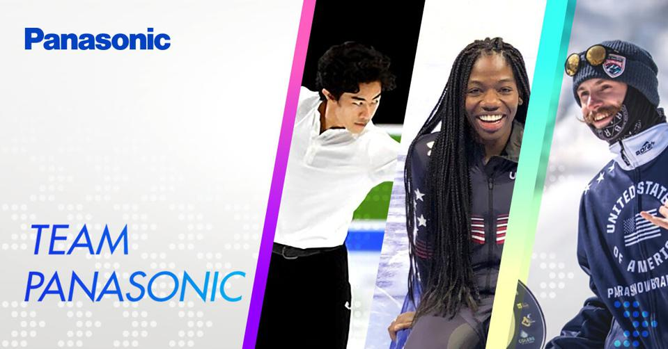 Maame Biney, Noah Elliott and Nathan Chen have joined the Team Panasonic roster