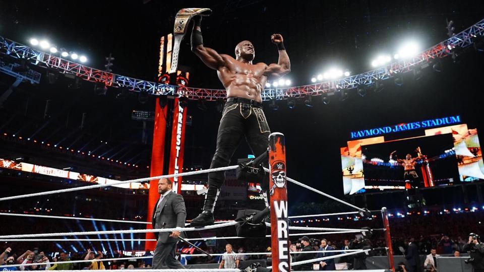 Bobby Lashley retained the WWE Championship at WrestleMania 37.