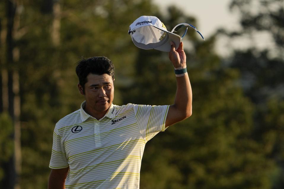 Masters Golf; Hideki Matsuyama, endorsements, sponsorship, marketing
