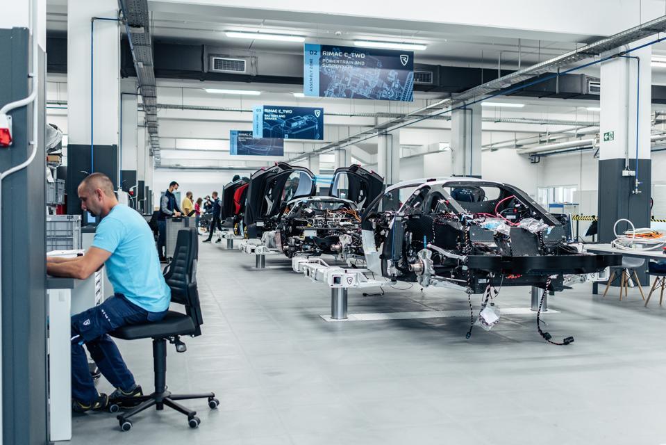 Rimac Automobili production facility