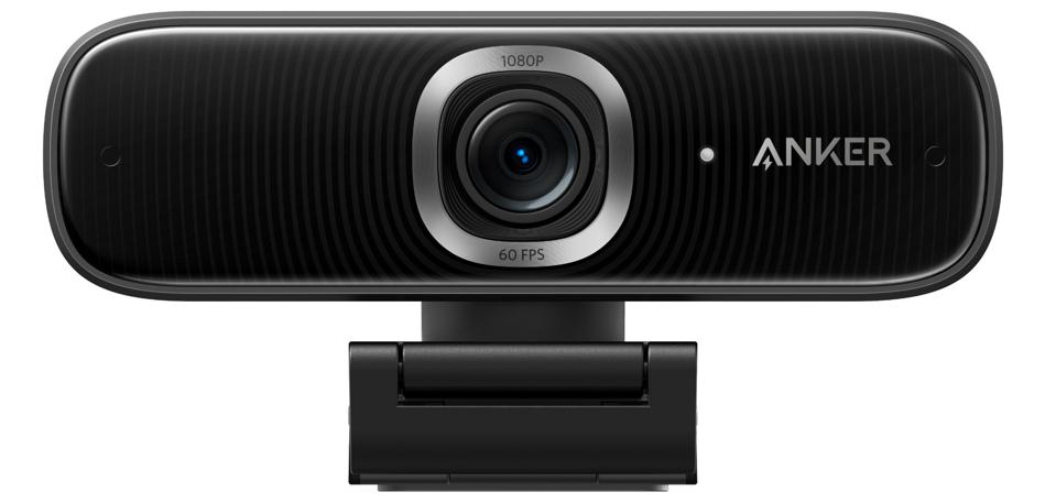 Front view of AnkerWork PowerConf C300 webcam