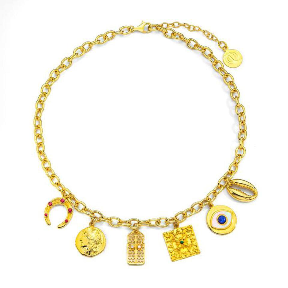 ARTISANS OF IQ Solivagant Charm Necklace