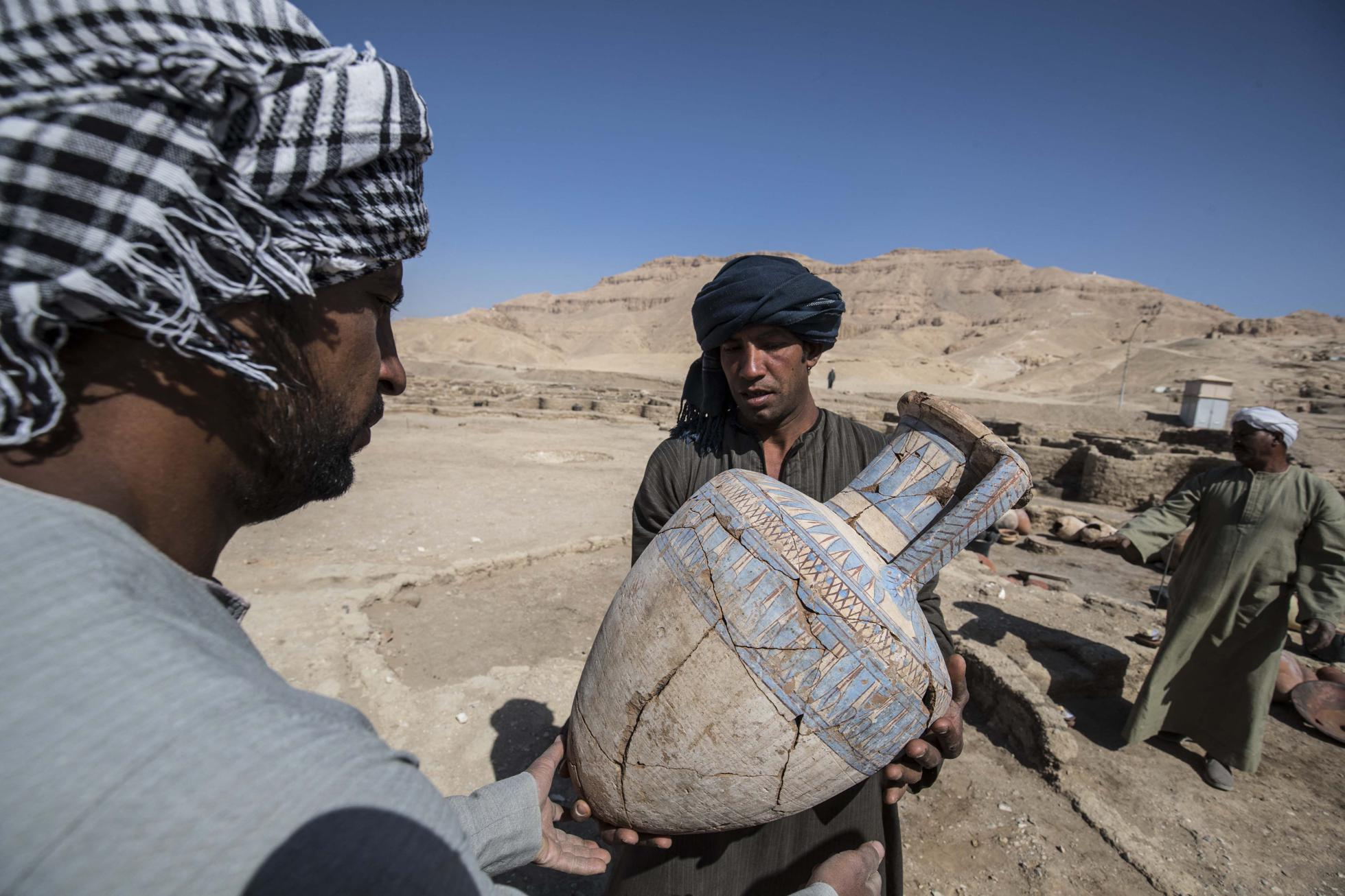 Egypt archaeology Lost Golden City