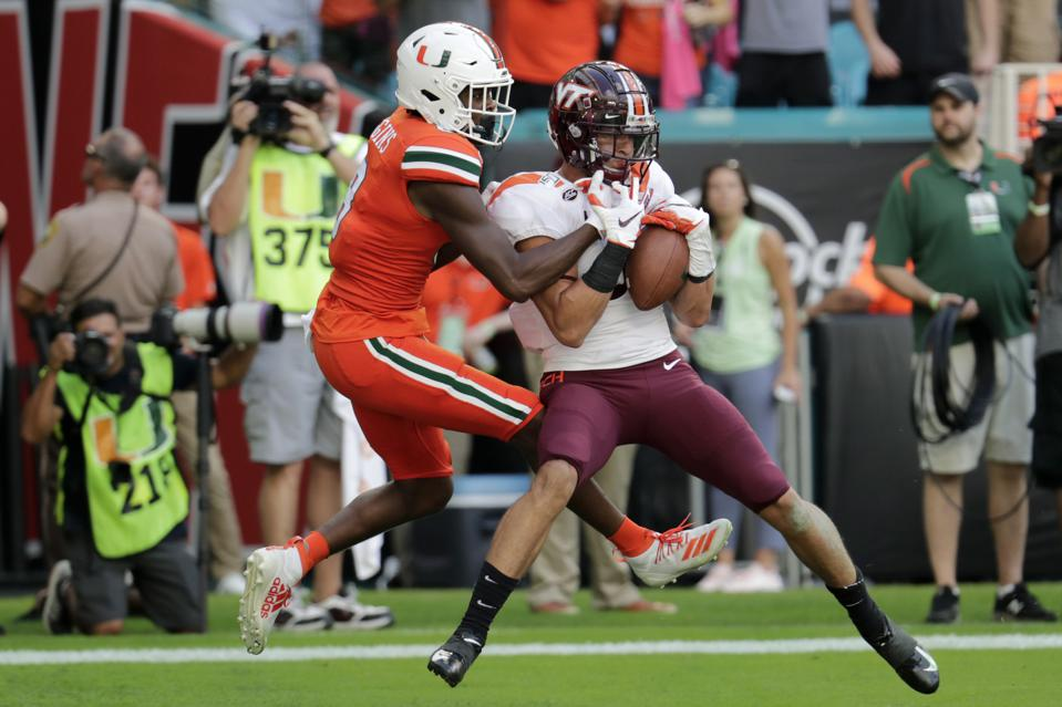 Virginia Tech Miami Football